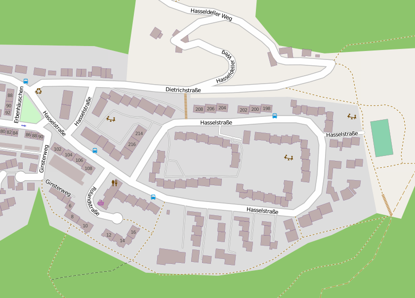 Open Streetmap Hasseldelle