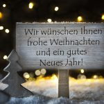 88693773 - white christmas tree, gutes neues means happy new year