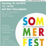Sommer, Sonne, Sonnenschein... Sommerfest 23.06.2018