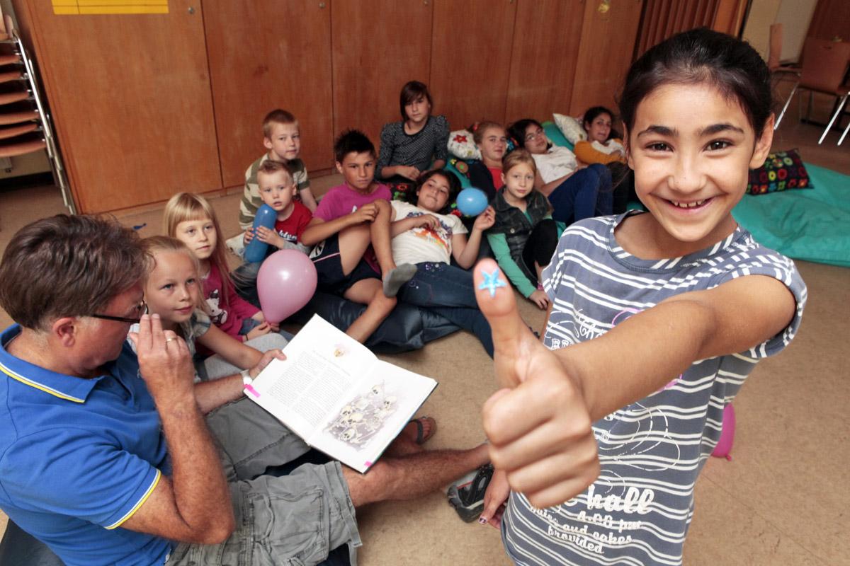 Meltem hat die meisten Lesesterne gesammelt.