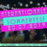 Einladung zum Internationalen Sommerfest