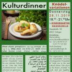 Knödelvariationen im Winter - Kulturdinner